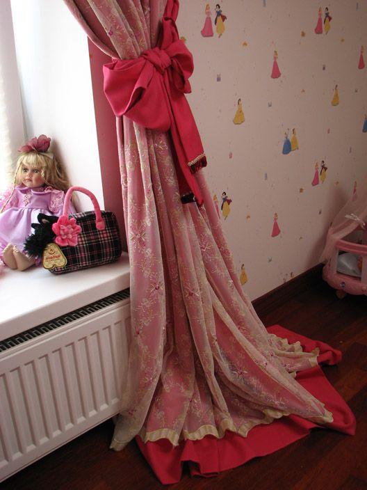 Розовая спальня для девочек