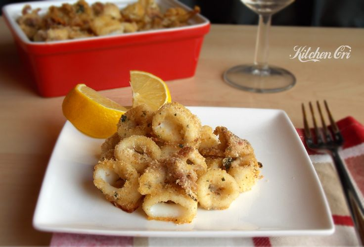 Calamari fritti al forno