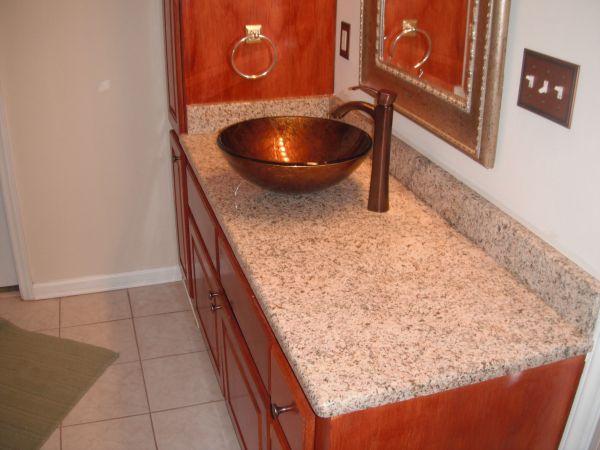 Vessel Sinks And Granite Countertops   Google Search