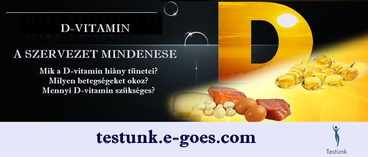 #d-vitamin 💥 Ezt tudnod kell! 💥 http://testunk.e-goes.com/d-vitamin-hiany/