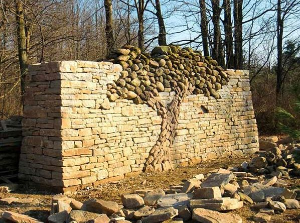 122 best Masonry & Stone Work images on Pinterest | Stone walls, Dry ...