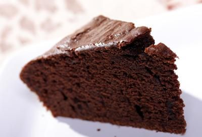Recipe: Vegan Chocolate Cake (Follow our other boards for detox, fitness, yoga and green living tips: pinterest.com/gaiam)