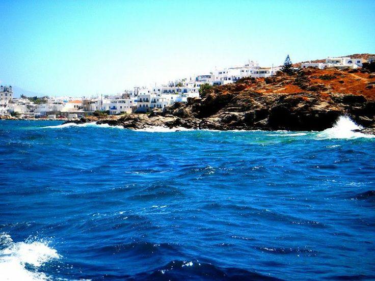Naousa of Paros, Cyclades - by Sylvia