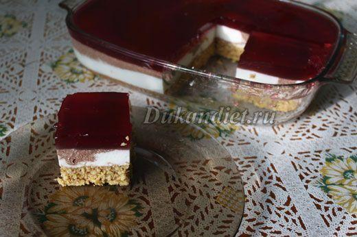 Торт «Рубиновый агат» | Диета Дюкана