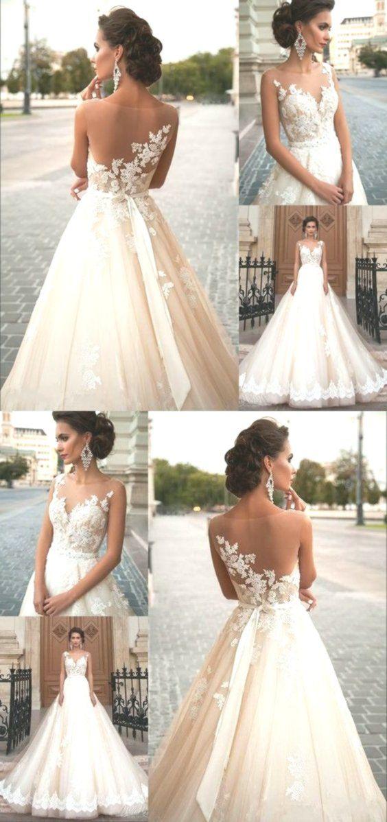 Abiti da sposa Sconto A Line Vintage Lace Bohemian Wedding Abiti da sposa Bianco…