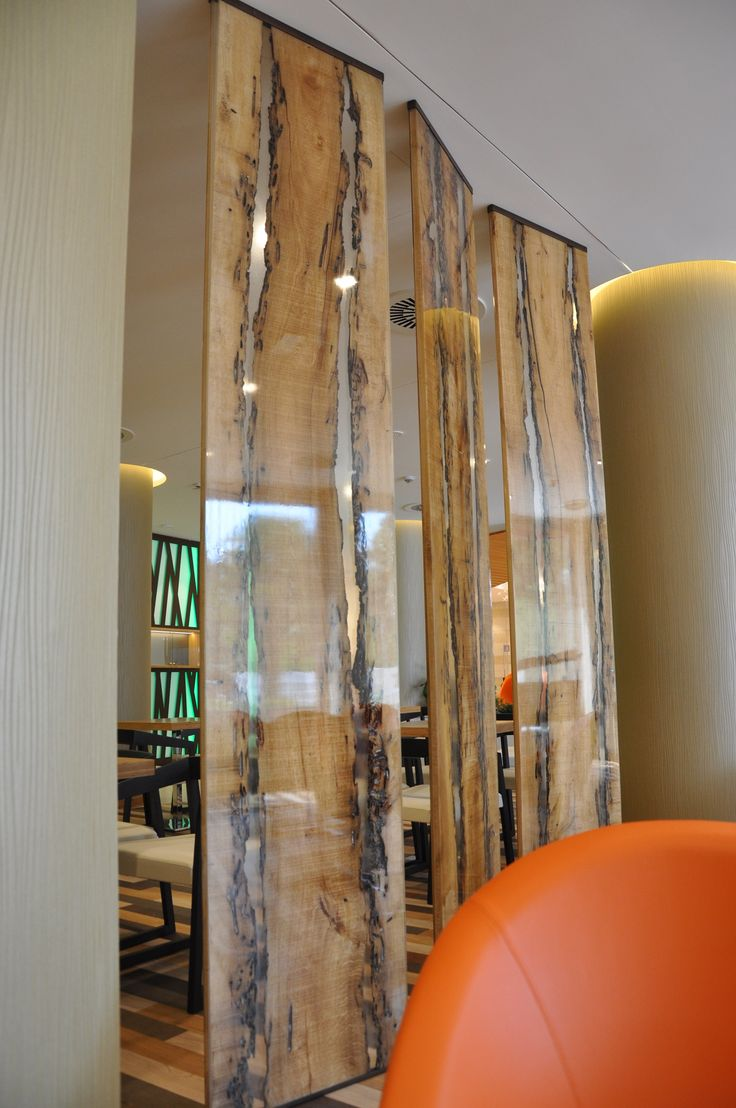 WOOD AND RESIN Room Divider By ANTICO TRENTINO DI LUCIO SEPPI