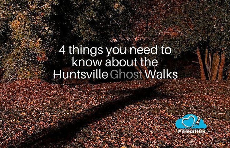Huntsville's Ghost Walk in Huntsville, Alabama via iHeartHsv.com