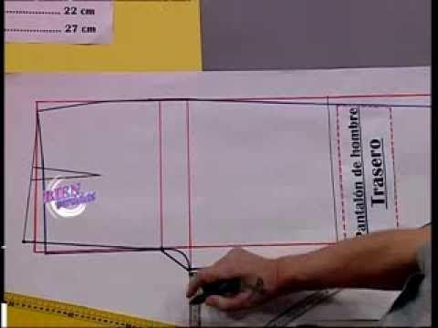 Dibuja el TRASERO DE UN PANTALON DE HOMBRE    Hermenegildo Zampar - Bienvenidas TV - Dibuja el trasero de un pantalón ...