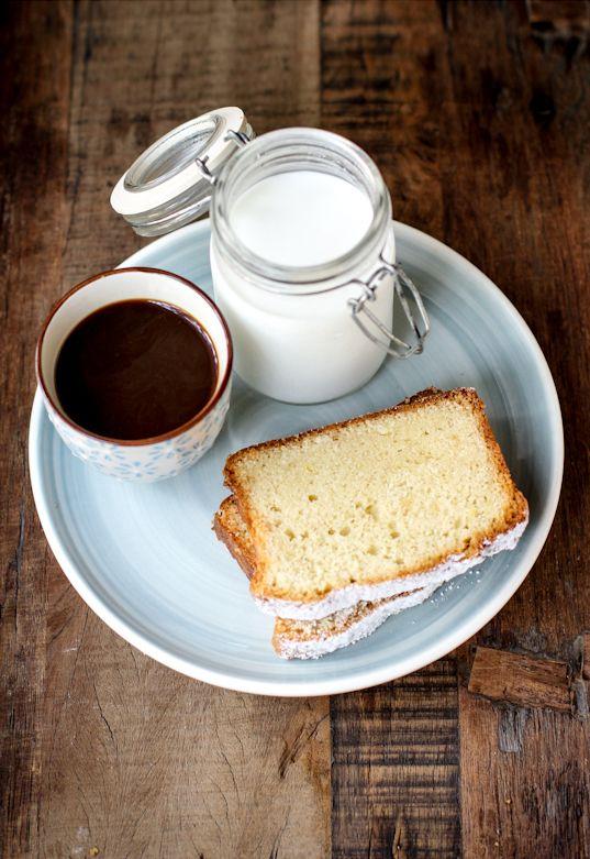 Pound cake lime e yogurt greco