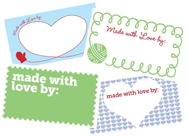 Knitting Labels Free : Best knitting tags images on pinterest gift
