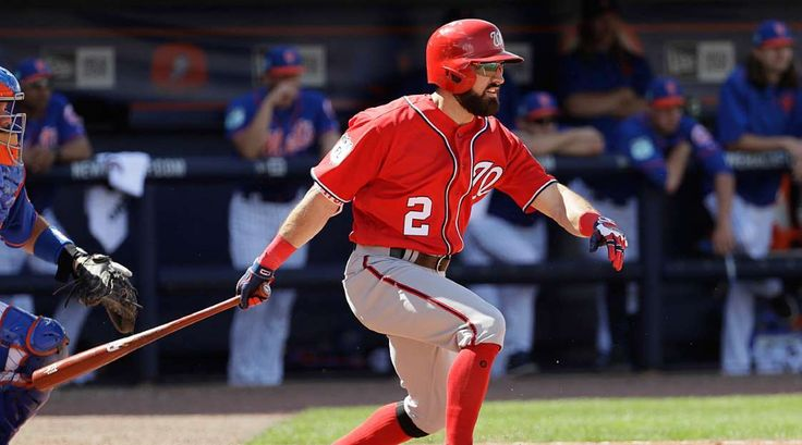 ADAM EATON WILL LEAD THE MAJORS IN RUNS SCORED  -    Hey, Dusty Baker! Can you scrap any plans to bat Eaton sixth and put him near the top of the order? Thanks.If this happens, Eaton should score a ton of runs hitting ahead of Bryce Harper and Daniel Murphy. He had a strong .362 OBP with 189 runs scored for the White Sox over the last two seasons, and those teams couldn't hit at all.   MORE...   11 bold fantasy baseball predictions  -  March 27, 2017: