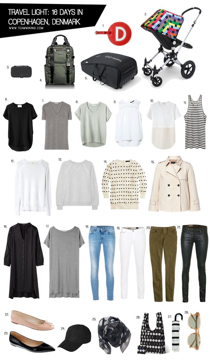 This post has been updated, please click here to view the newer version. We left for Copenhagen yesterday, for 16 days. I packed for 4 people in 3 carryons. Here is a peek into what is in mine and how I plan to mix and match them. I did buy some travel sized laundry detergentRead More