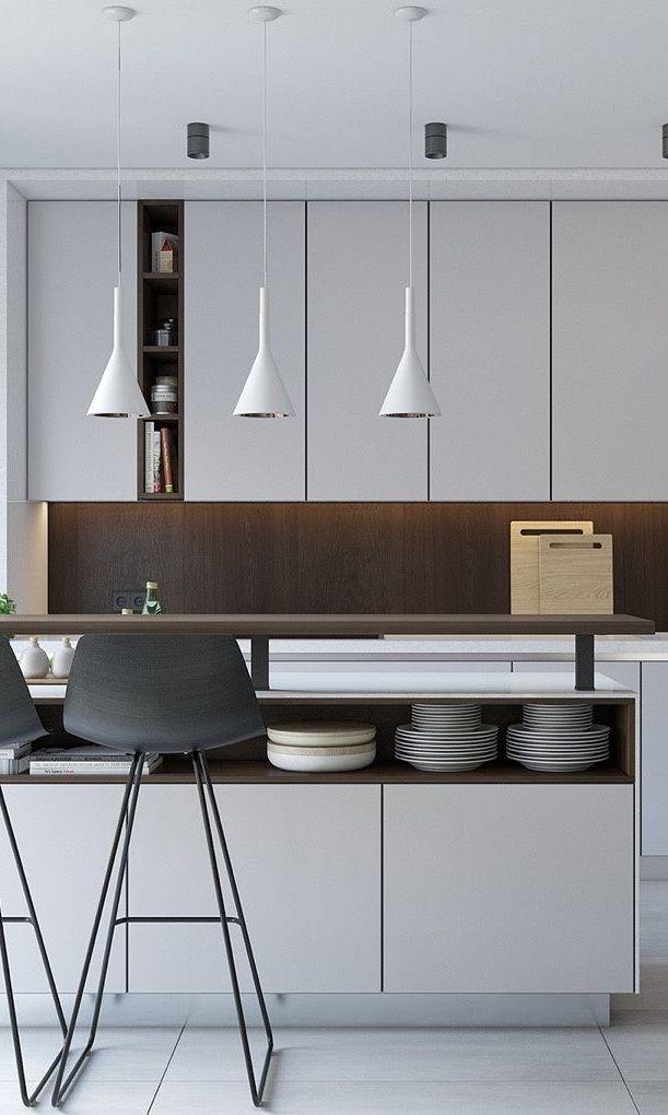 10 Best Minimalist Kitchen Design Dengan Gambar