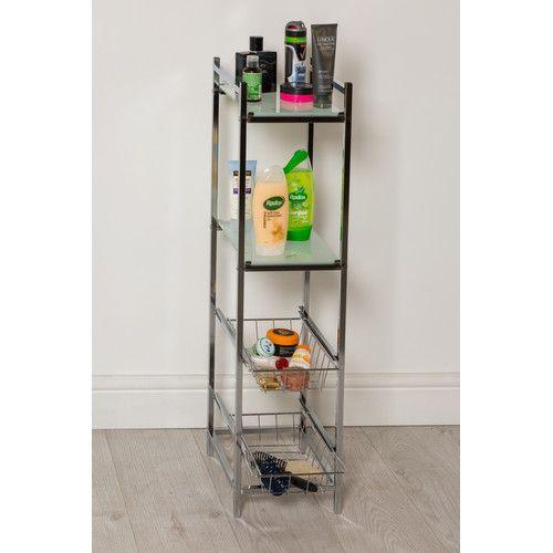 215 cm x 90 cm Badregal Burlington Jetzt bestellen unter: https://moebel.ladendirekt.de/bad/badmoebel/badregale/?uid=80bc255c-5f6b-5075-aae2-4f5bf7e9ada1&utm_source=pinterest&utm_medium=pin&utm_campaign=boards #badregale #bad #badmoebel #storage #bathroom