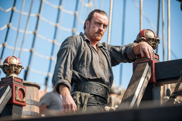 "black sails season 2 | Toby Stephens in Season 2 of ""Black Sails,"" Saturdays on Starz ..."