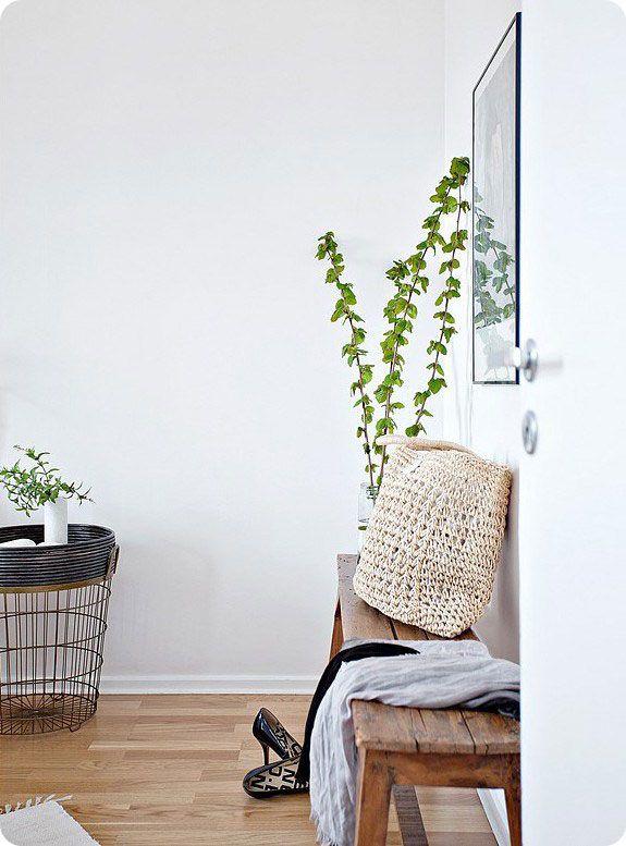 La végétation dans la décoration scandinave