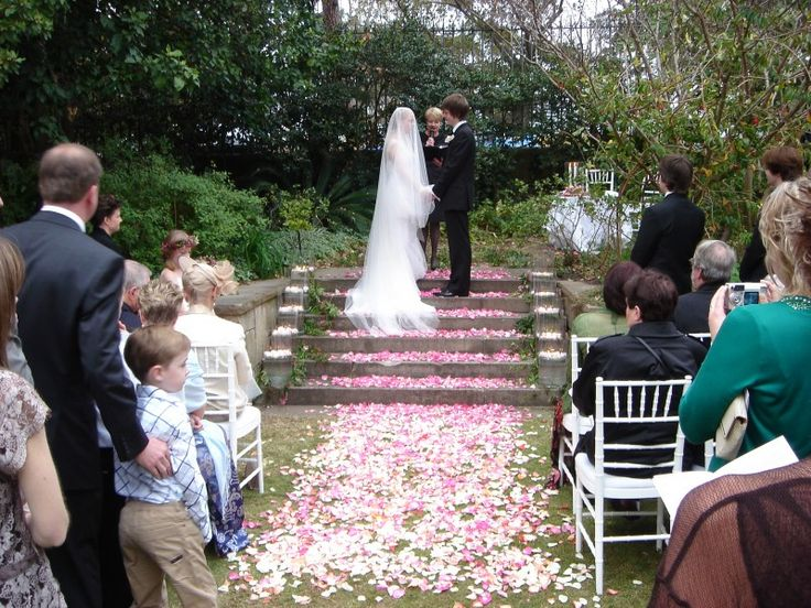 Botanical Gardens - Lions Gate Lodge Wedding Ceremony