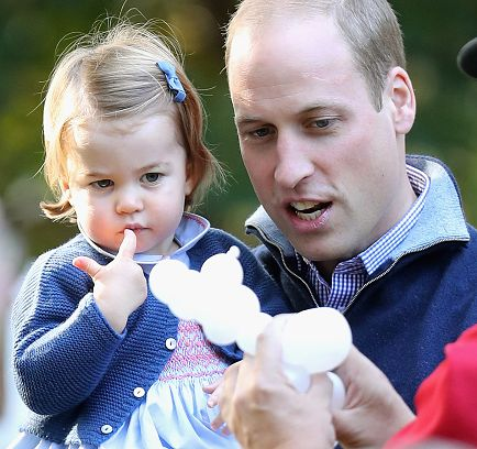 Prince George and Princess Charlotte of Cambridge carried out their first official joint engagement at a children's party for Military families during the Royal Tour of Canada on September 29, 2016 in Carcross, Canada - Royal Family Around the World: British Royal Family