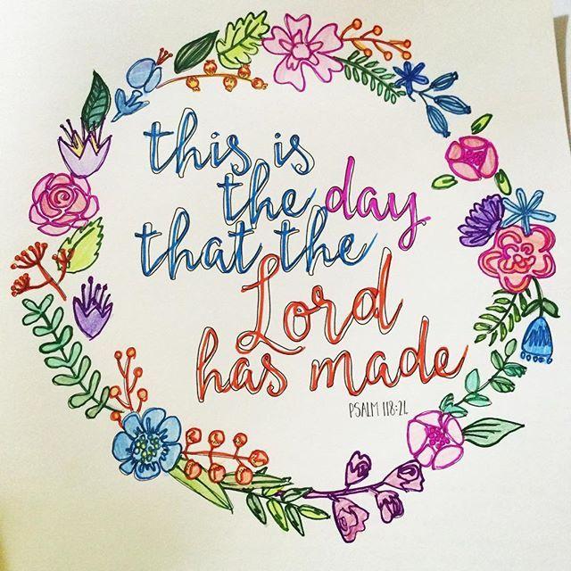 . 詩篇118:24 今日こそ主の御業の日 . アーメン。 今日は本当に主を感じた日だった。証ししていきたい。 . #聖書 #coloring #大人の塗り絵 #塗り絵 #amen #bible #アーメン#💓#thisisthedaythatlordhasmade #love #lord #god #psalm11824 #詩篇 #beautyinthebible