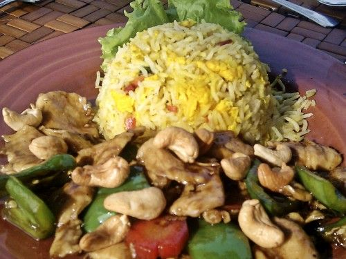 Chicken w/Cashew Nut @ Maisonette Nauratan Photo By NBg