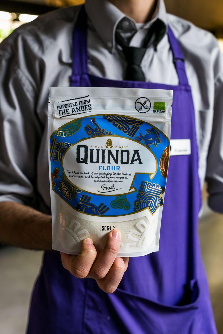 Mamy też mąkę z quinoa, idealna do bezglutenowych wypieków!