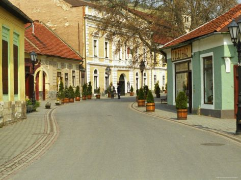 Main Street, Tokaj, Hungary Photographic Print by Per Karlsson at Art.com