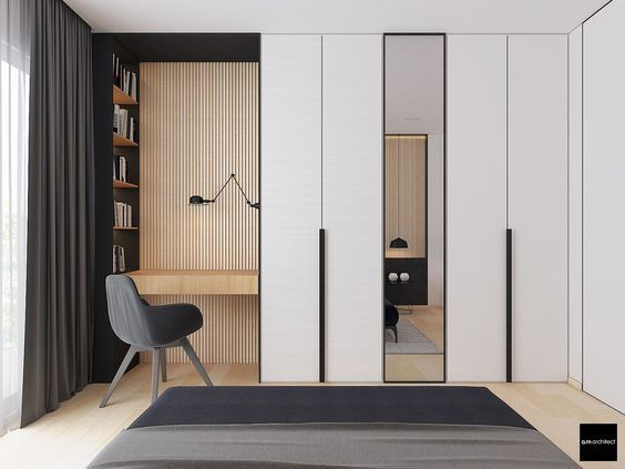 Two Modern Minimalist Apartments With Subtle Luxurious Details: