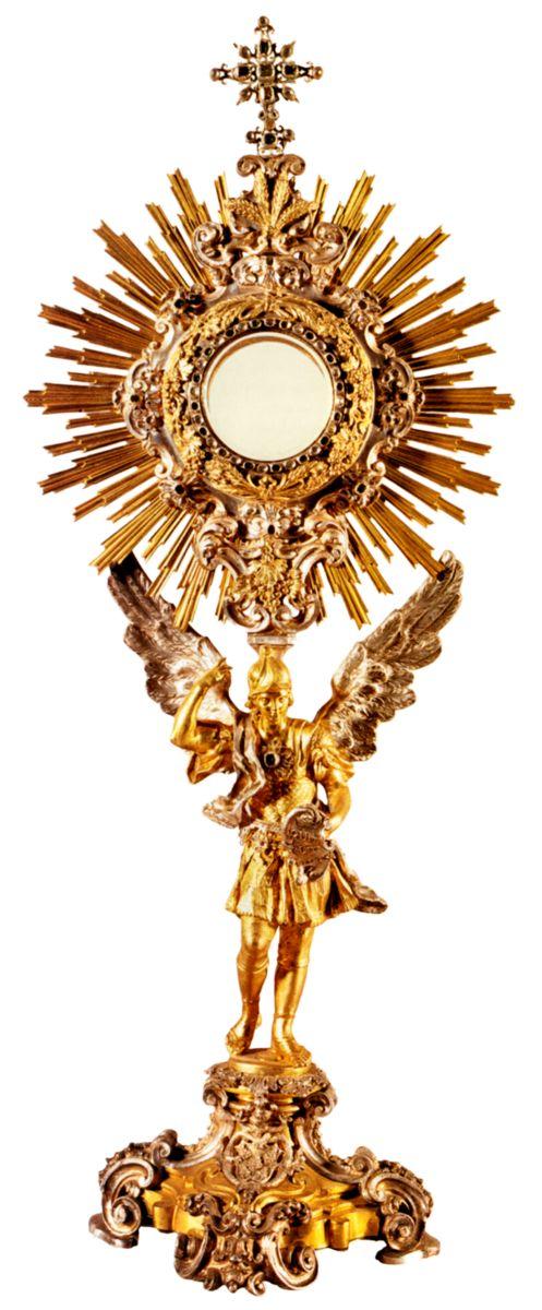 3.Exponer públicamente el Santísimo Sacramento a la adoración de los fielesDEVOCION AL SANTISIMO SACRAMENTO DEL ALTAR