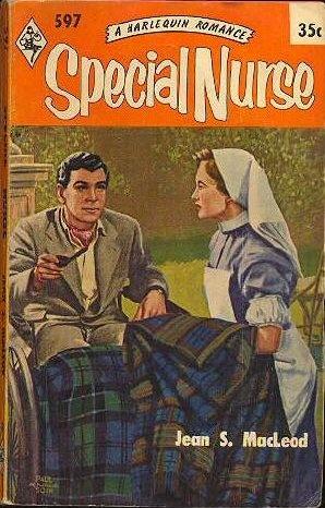 Vintage romance cover