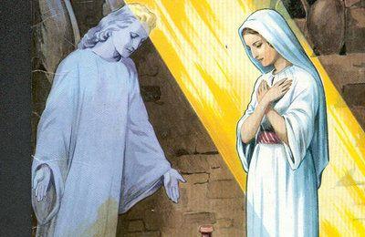 Réactivation de l'Annonciation à Marie.