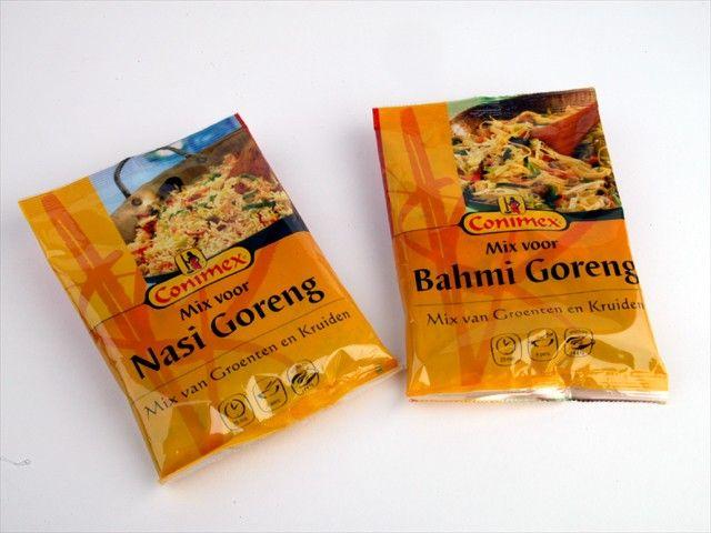 conimex nasi en bami goreng