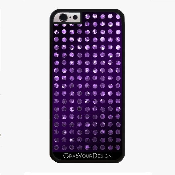 SOLD Crystal Bling Strass G62! #GrabYourDesign #case #iPhone #iPhone6 #design #Smartphone #Crystal #Bling #Strass #purple http://www.grabyourdesign.com/product.php?product=9512