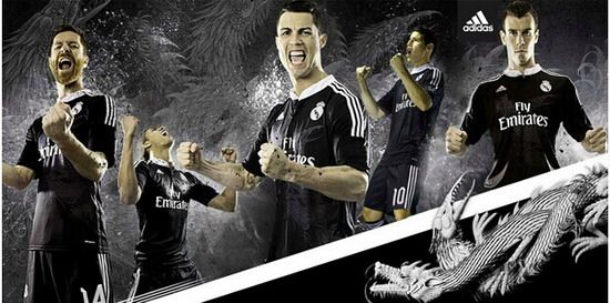 Equipacion Real Madrid tercera 2014-2015