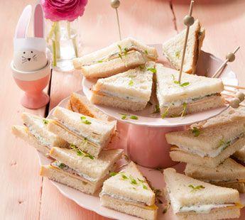 Frisse kaassandwiches met fricandeau en tuinkers - Recept - Jumbo Supermarkten