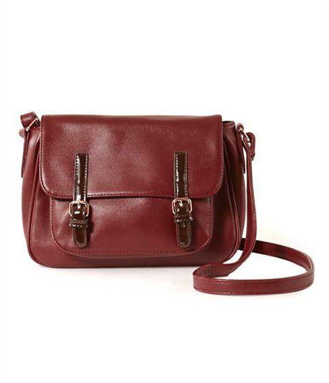 La nouvelle mode des sacs à main rétro la mère et l'enfant en vrac simple sac en bandoulière, bleu