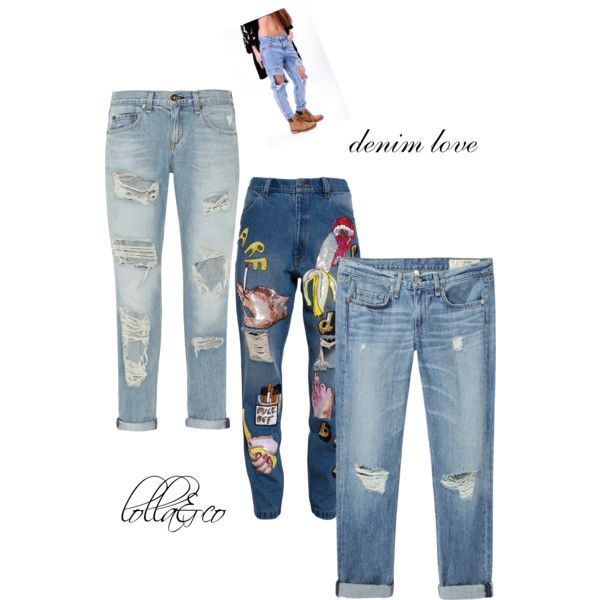 A fashion look from February 2015 featuring Ashish jeans, rag & bone jeans and rag & bone/JEAN jeans. Browse and shop related looks.