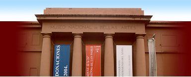 Museo Nacional de Bellas Artes (MBNA) - a Google exhibit of digital photographs is on display