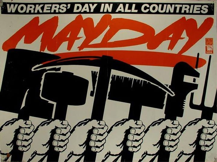 """#InternationalLabourDay is being celebrated today with theme """"Celebrating the int'l labour movement"""". #MayDay2016"""