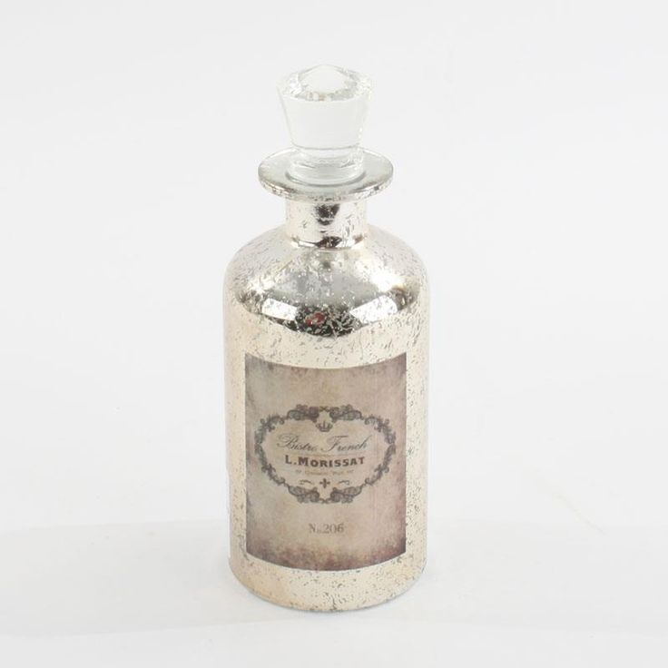 Glass Bottle in champagne color. www.inart.com