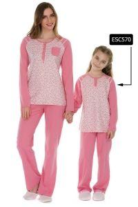 Eros ESC570 Kız Çocuk Pijama Takımı
