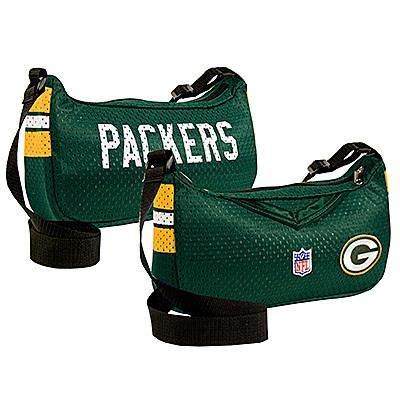 NEW GREEN BAY PACKERS FOOTBALL JERSEY PURSE BAG CUTE!
