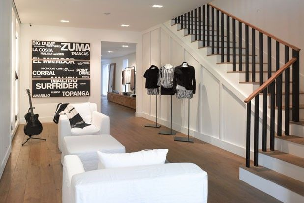 James perse store love the simplicity interior Architecture perse
