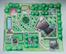 Благоустройство и озеленение участка загородного дома. Курсовые, рефераты, контрольные бесплатно скачать