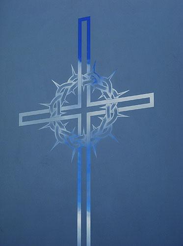 Sacred Art - Glass Work - The Studio of John the Baptist : sacredart.co.nz