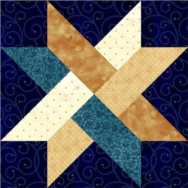 El bloque de febrero se llama Weave Star. Recordad que las indicaciones básicas del Bloque del Mes las publicamos aquí .   The block of F...