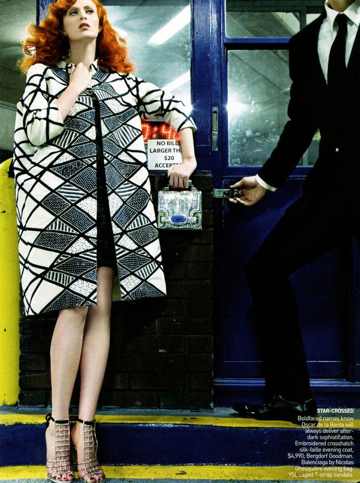 ☆ Karen Elson | Photography by Steven Klein | For Vogue Magazine US | March 2009 ☆ #Karen_Elson #Steven_Klein #Vogue #2009