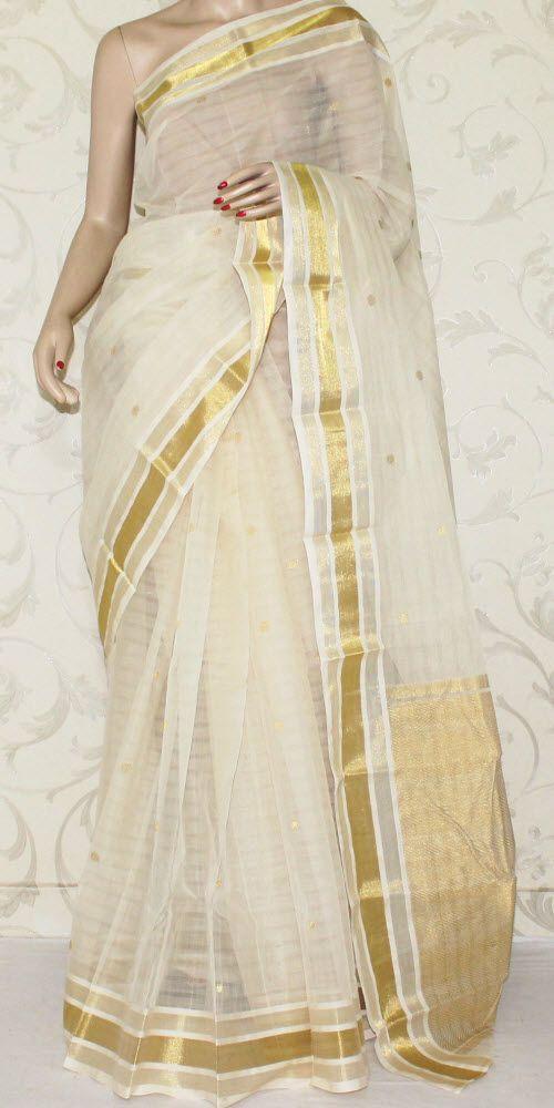 Bengal Handloom Tant Saree (W/B-Cotton) 13085