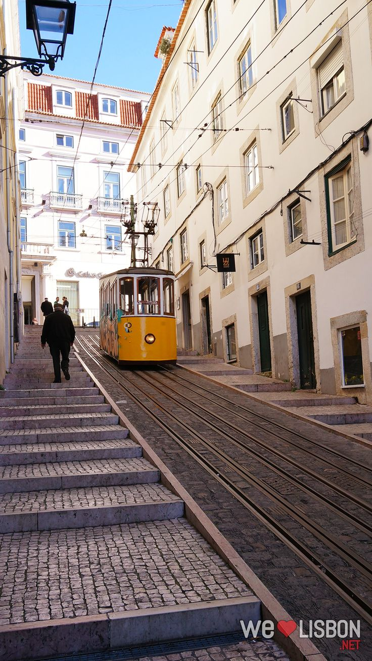 Bica Funicular - Whatever you do, don't miss a journey on this funicular. The slow ride is a unique opportunity to gaze at all the peculiarities of Lisbon's most photographed street.
