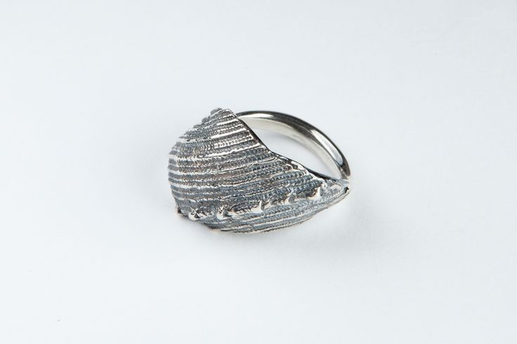 Spine Ring (Sterling silver, oxidized / 3cm x 2cm)