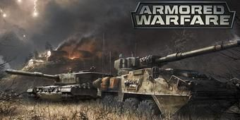 ARMORED WARFARE is a new war game focusing on tanks and destructible environment.